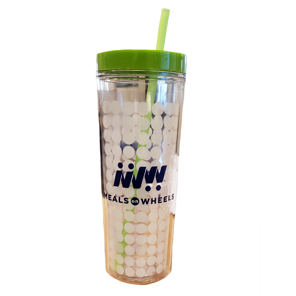 16oz. Color Changing Straw Tumbler